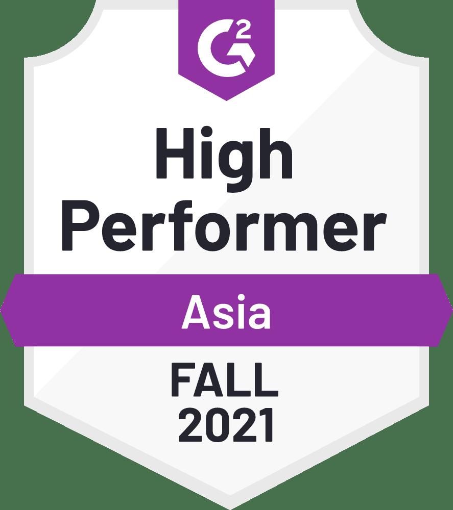 2021 fall Asia high performer
