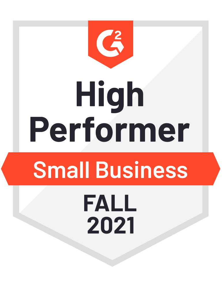 2021 fall small business high performer