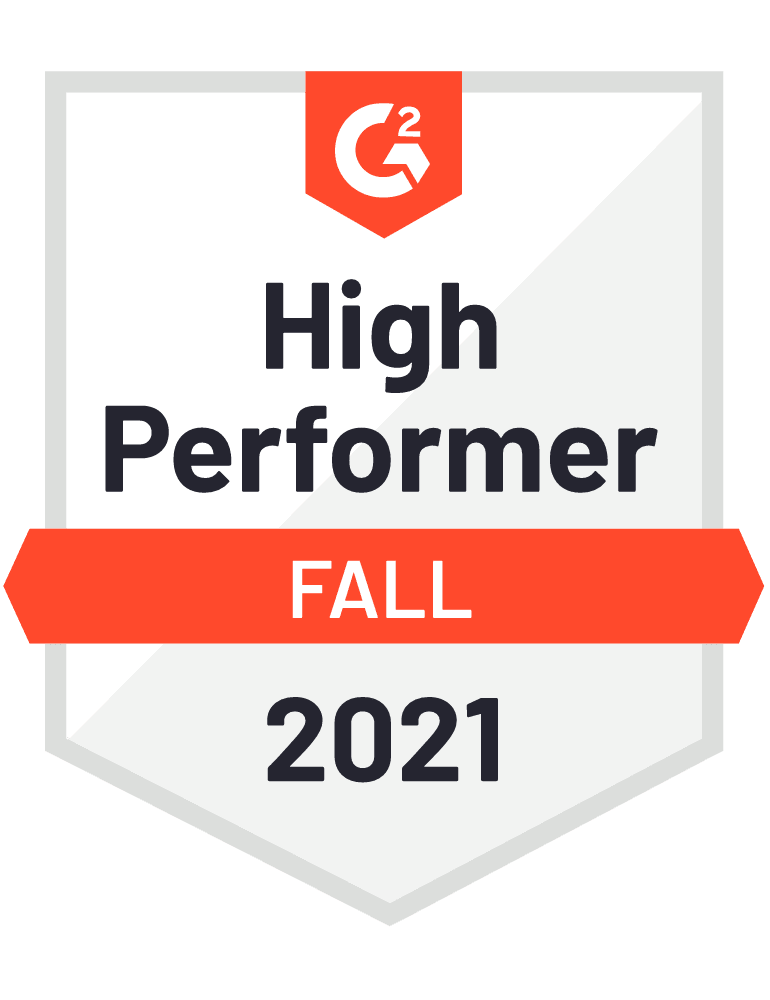 2021 fall high performer