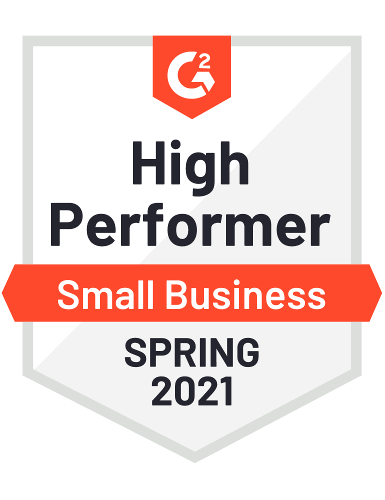 2021 spring high performer small business
