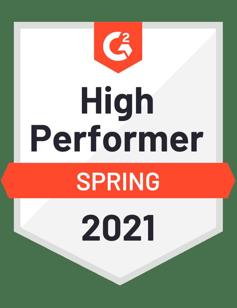 2021 spring high performer