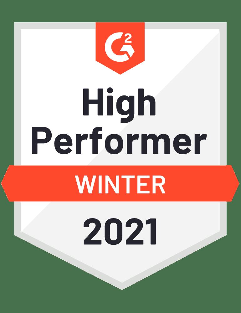 2021 winter high performer