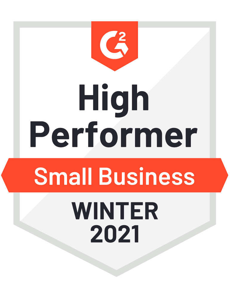 2021 winter small business high performer